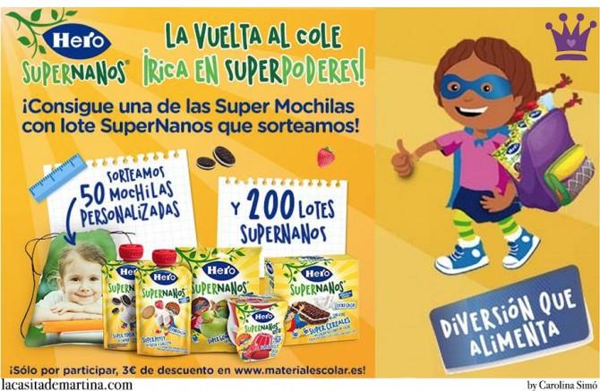 Hero Supernanos, Sorteo, La casita de Martina, Blog de Moda Infantil