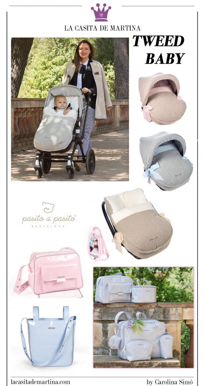Pasito a Pasito, Bolso maternidad, Sacos silla de Paseo, La casita de Martina, 3