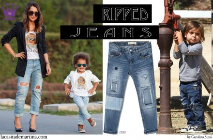 Tendencias moda, Blog de Moda Infantil, Vaqueros rotos, La casita de Martina, 5