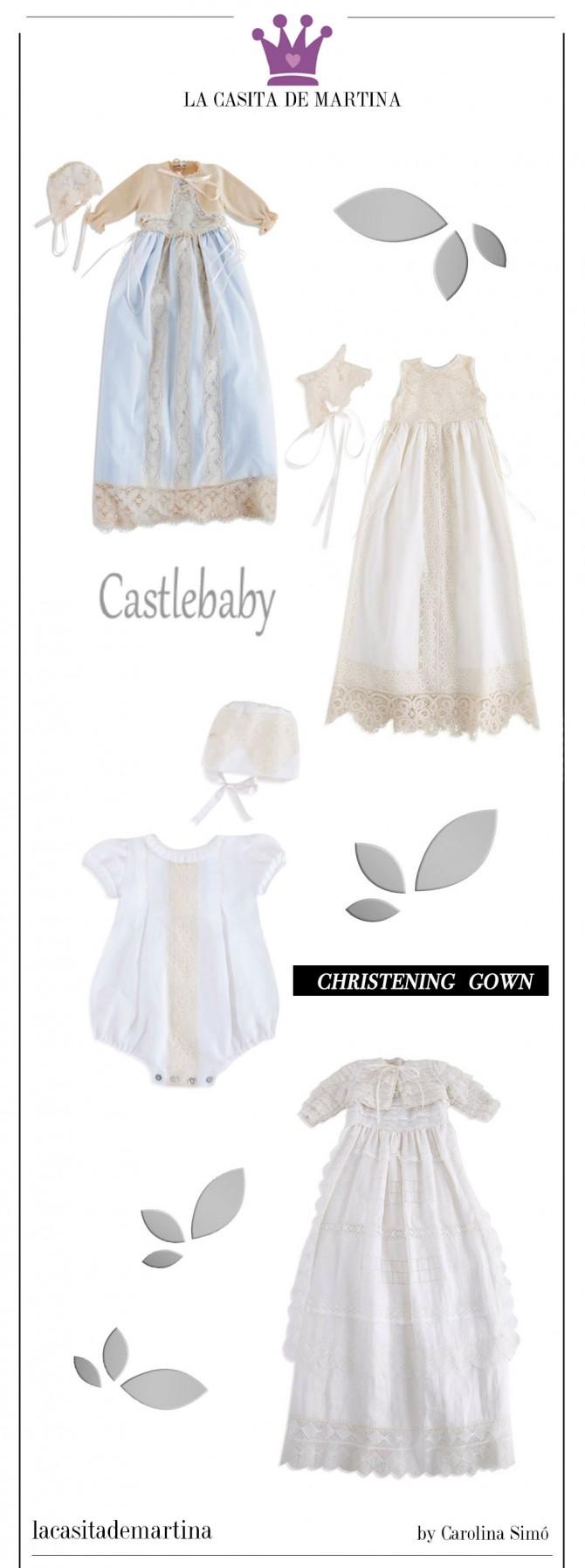 Trajes bautizo, Faldones Cristianar, Castlebaby, Blog Moda Infantil, Blog Moda Bebé, La casita de Martina