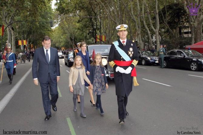 Vestidos Leonor y Sofía, Nanos princesa España, Blog de Moda Infantil, La casita de Martina, Día de la Hispanidad, 4