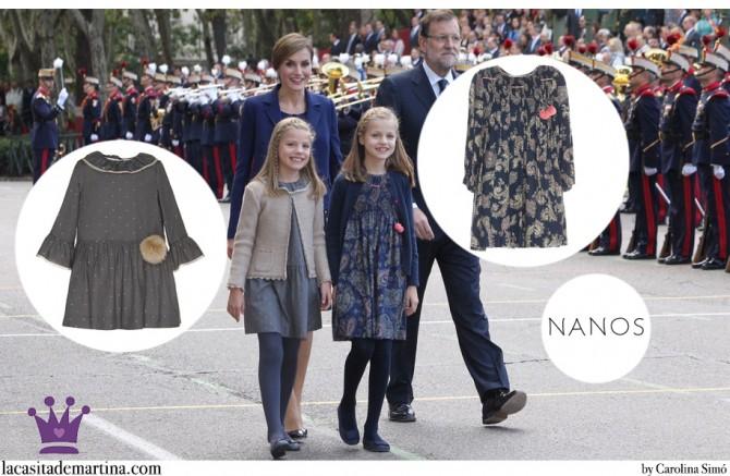 Vestidos Leonor y Sofía, Nanos princesa España, Blog de Moda Infantil, La casita de Martina, Día de la Hispanidad