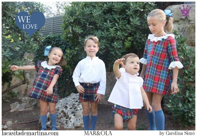 21 mar&ola moda infantil, Blog Moda Infantil, Moda infantil infantil invierno, La casita de Martina
