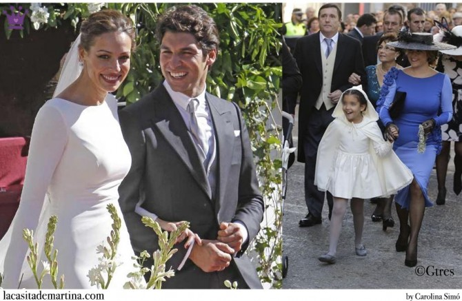6a7aab0e0b ♥ ¿Qué marca viste a los niños de ARRAS en la boda de Cayetano ...