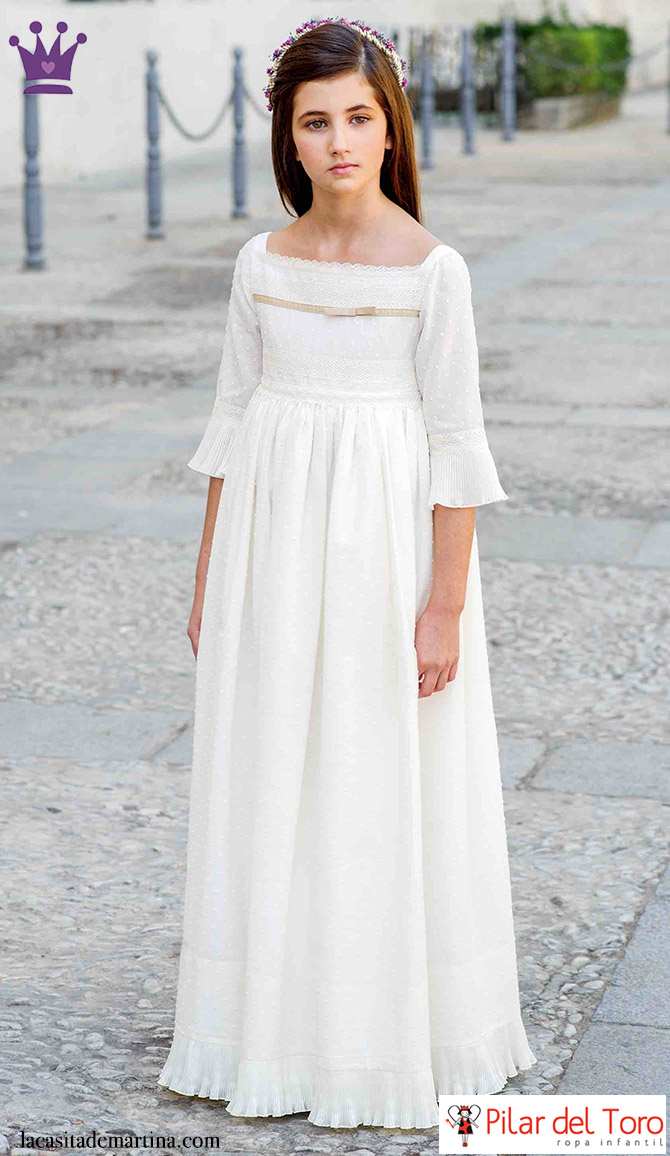 SORTEO Trajes de Comunión 2016, Vestido de Comunión, La casita de Martina, Pilar del Toro, Blog Moda Infantil