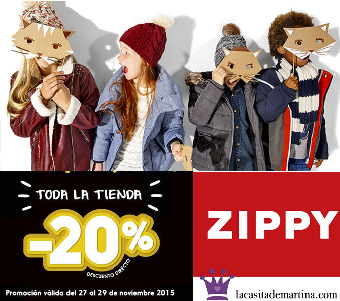 Zippy Black Friday, Blog de Moda Infantil, Black Friday, Moda Niños, La casita de Martina