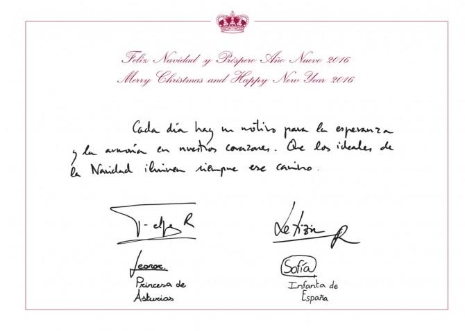 Felicitación de Navidad Reyes España, Felicitación Navidad Princesa Leonor e Infanta Sofia, Blog de Moda Infantil, Carolina Simó, 1