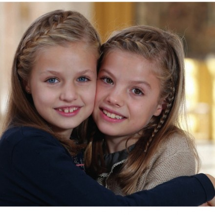 Felicitación de Navidad Reyes España, Felicitación Navidad Princesa Leonor e Infanta Sofia, Blog de Moda Infantil, Carolina Simó