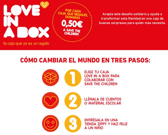 Love in a Box Zippy, Save the Children, Regalo Navidad Solidario, La casita de Martina, Blog de Moda Infantil, 1