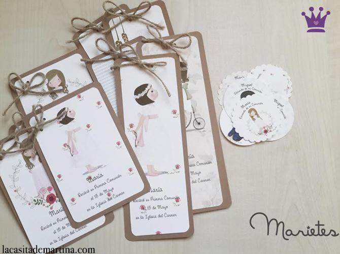 Detalles para invitados recordatorios o invitaciones - Como hacer tarjetas de comunion ...