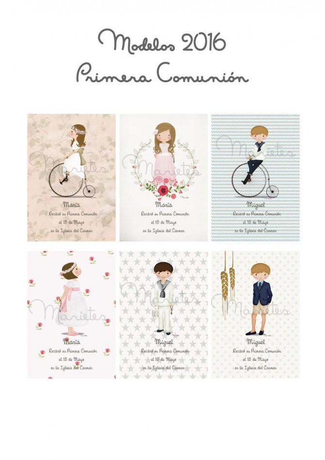 Regalos para invitados, Recordatorios Comunión, Invitaciones Primera Comunión, La casita de Martina, Marietes Ilustraciones, 7