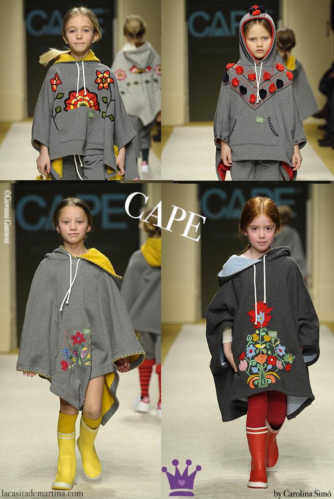 Pitti Bimbo, Tendencias Moda Infantil, Apartment Pitti, La casita de Martina, Carolina Simo, Cape kids wear