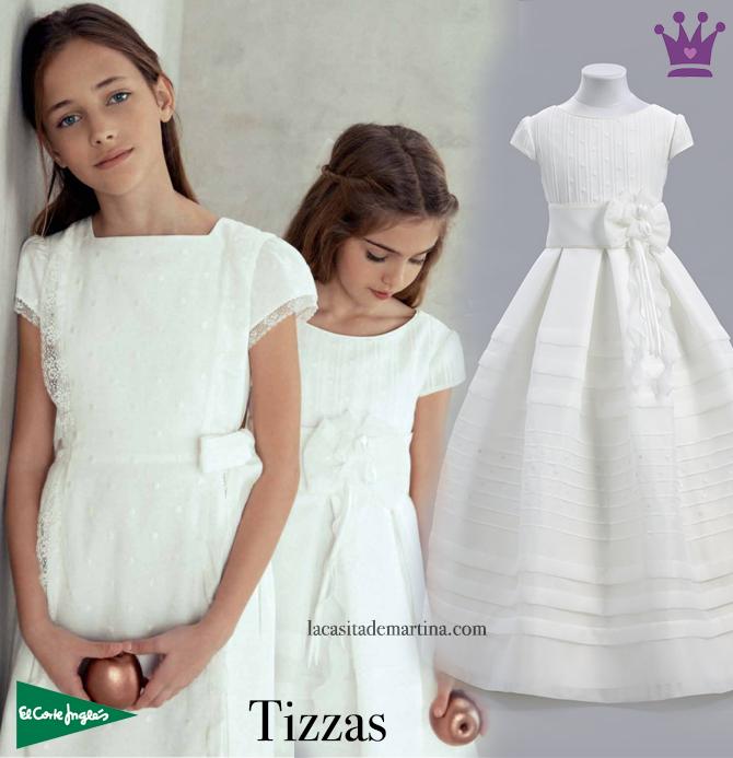 9ae4056bb vestidos de comunion tizzas 2017
