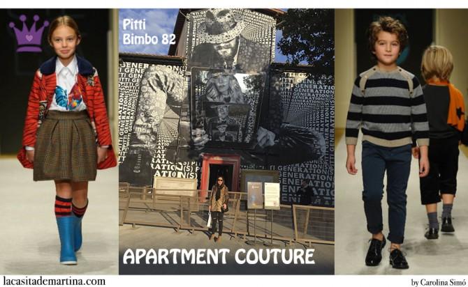 Pitti Bimbo, Tendencias Moda Infantil, Apartment Pitti, La casita de Martina, Carolina Simo