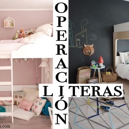 Literas abatibles, Habitaciones infantiles. Literas para ninos, Blog Moda Infantil, La casita de Martina