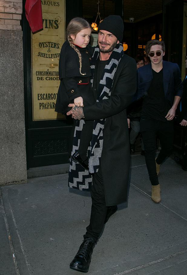 Harper Beckham, Blog de Moda Infantil, La casita de Martina, Semana de la Moda de Nueva York, Victoria Beckham