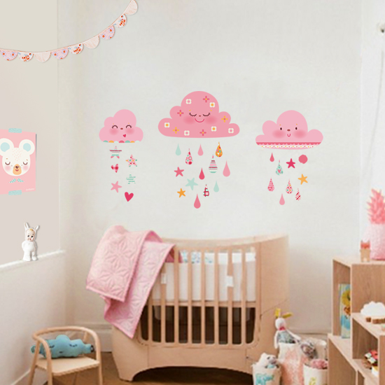 Decohappy adorables vinilos infantiles para decorar su for Habitacion bebe con vinilos