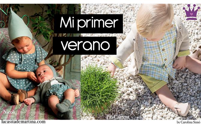 e789a3b51 ♥ El primer verano no se olvida ♥ Moda para bebés Primavera Verano ...