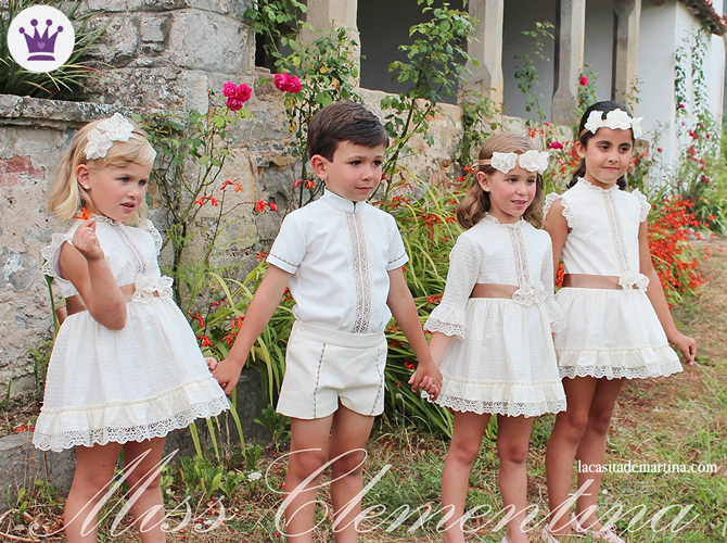 Blog Moda Infantil, Trajes de arras para niños, La casita de Martina, Vestidos de niña para bodas