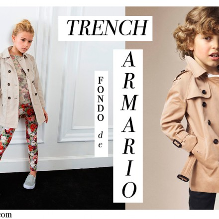 Tendencias moda infantil, Trench Burberry, La casita de Martina, Blog Moda Infantil