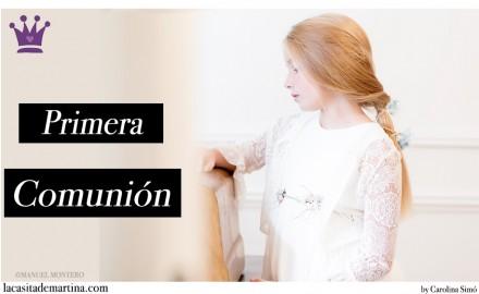 Rebeca para una comunión, Trajes de Comunión, Vestidos de Comunión, Blog Comuniones, La casita de Martina