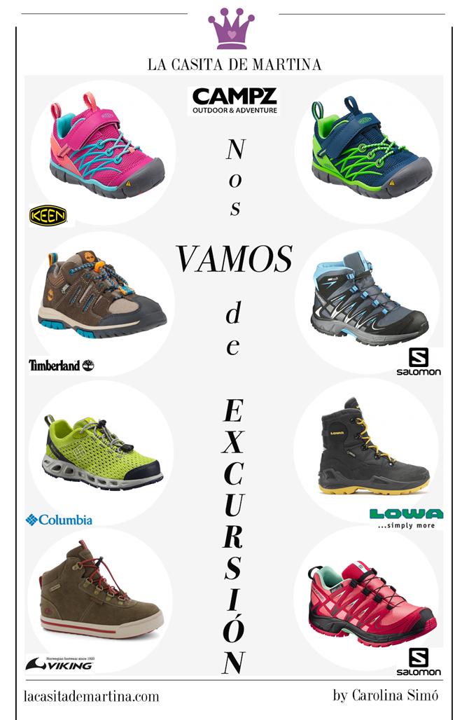 Blog de moda infantil, Calzado de Montaña, Trekking, Ropa infantil, La casita de Martina, Carolina Simo 2