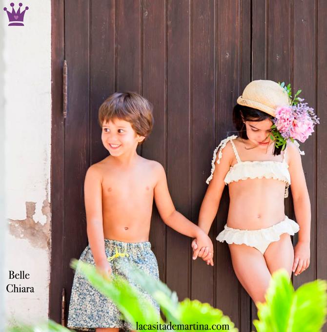 Bañadores para niños, La casita de Martina, Blog Moda Infantil, Belle Chiara