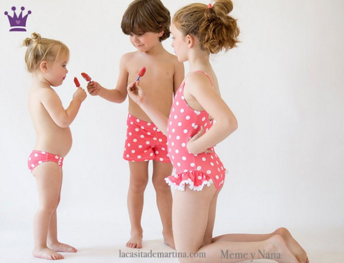 Bañadores para niños, La casita de Martina, Blog Moda Infantil, Meme y Nana