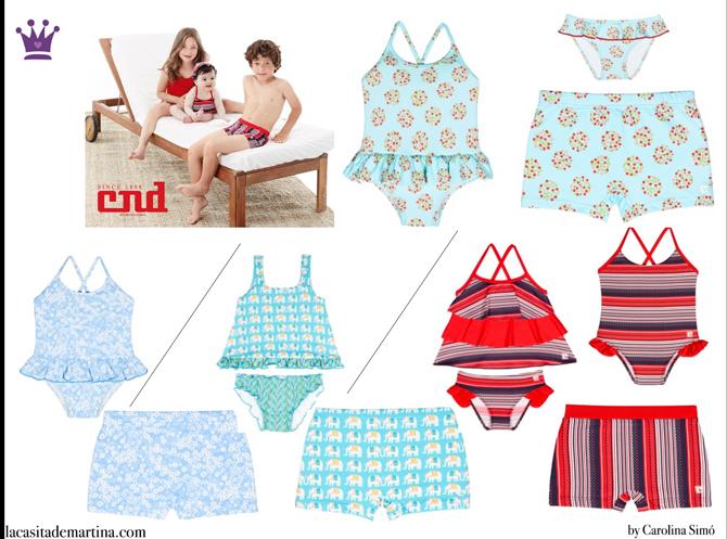 Bañadores para niños, La casita de Martina, Blog Moda Infantil, Cóndor Moda Infantil