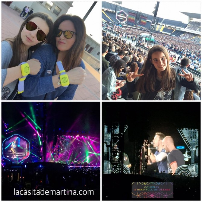 Coldplay Barcelona, La casita de Martina, Blog de Moda Infantil, Carolina Simo