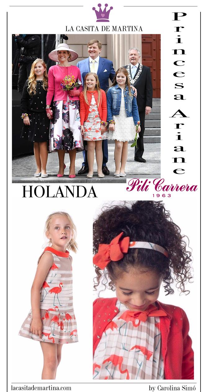 Máxima de Holanda, Blog de Moda Infantil, marca vestidos de las princesas, La casita de Martina