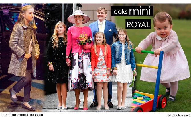 Marca ropa princesa Leonor, Máxima de Holanda, Princesa Charlotte, Blog de Moda Infantil