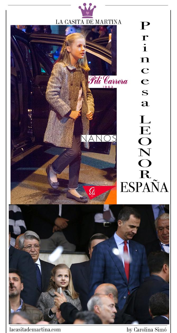 Princesa Leonor, Blog de Moda Infantil, marca vestidos de las princesas, La casita de Martina
