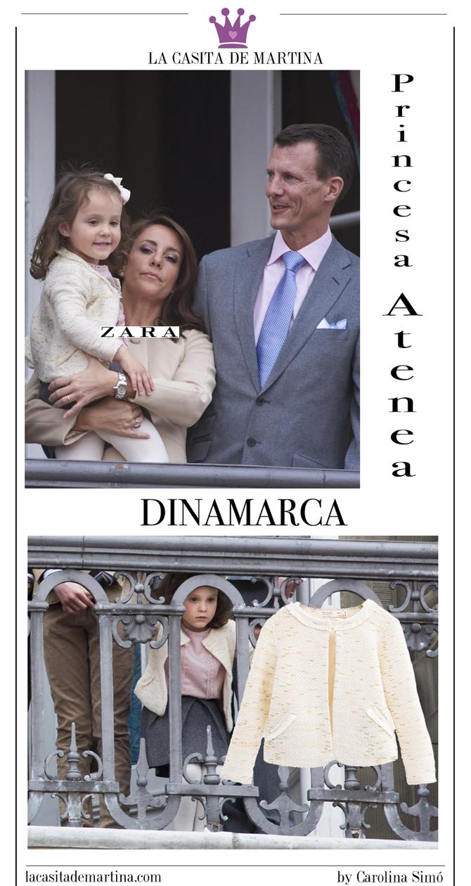 Princesa Athena Dinamarca, Blog de Moda Infantil, marca vestidos de las princesas, La casita de Martina