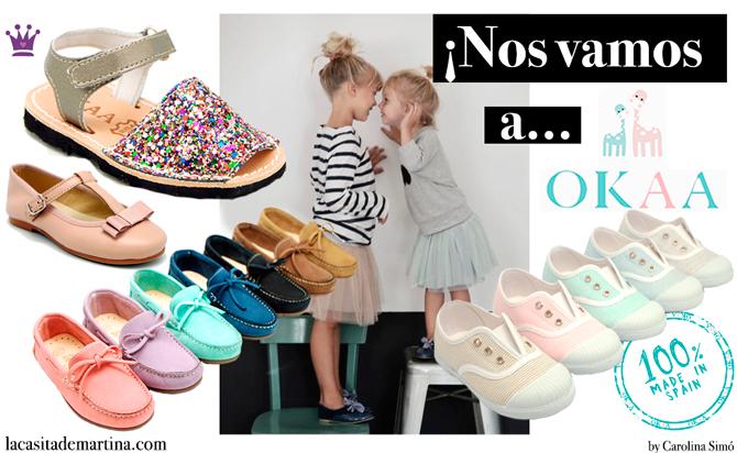 Calzado infantil okaaspain, Blog Moda Infantil, La casita de Martina, Moda Infantil