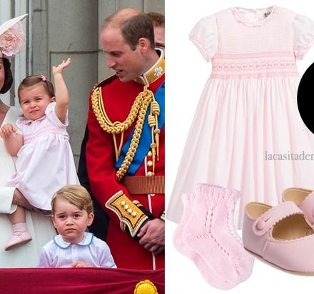 Princesa Charlotte, Blog Moda Infantil, Principe George, vestido pricesa Charlotte, La casita de Martina