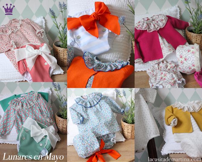 Lunares en mayo, moda infantil, La casita de Martina, Carolina Simo, Kids Wear