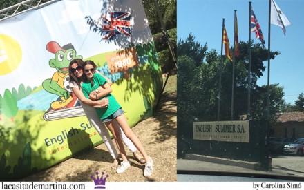 English Summer, Campamento de ingles, Blog Moda infantil, La casita de Martina, Campamentos de idiomas