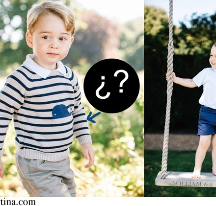 Jersey de rayas del principe George, Marca Moda Infantil George de Inglaterra, Blog de Moda Infantil, La casita de Martina