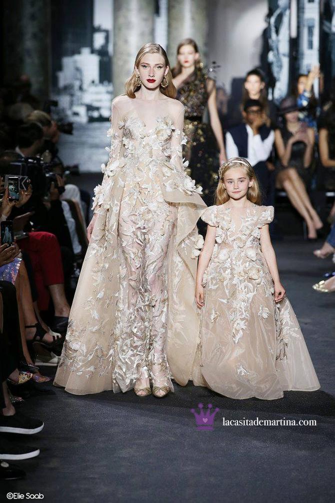 Elie Saab, Desfiles Paris, Blog de Moda Infantil, La casita de Martina, Moda Infantil, Kids wear