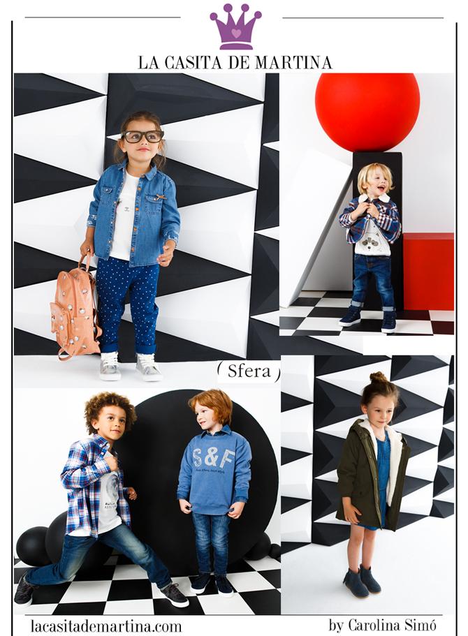 Vuelta al Cole, Moda Infantil, Ropa niños colegio, La casita de Martina, Sfera, Kids Wear