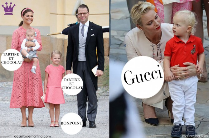 Blog de Moda Infantil, La casita de Martina, Marca ropa niños famosos, Victoria de Suecia, Monaco