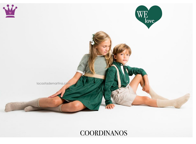 Coordinanos, Moda Infantil, Tendencias Moda Infantil, La casita de Martina, Blog de Moda Infantil