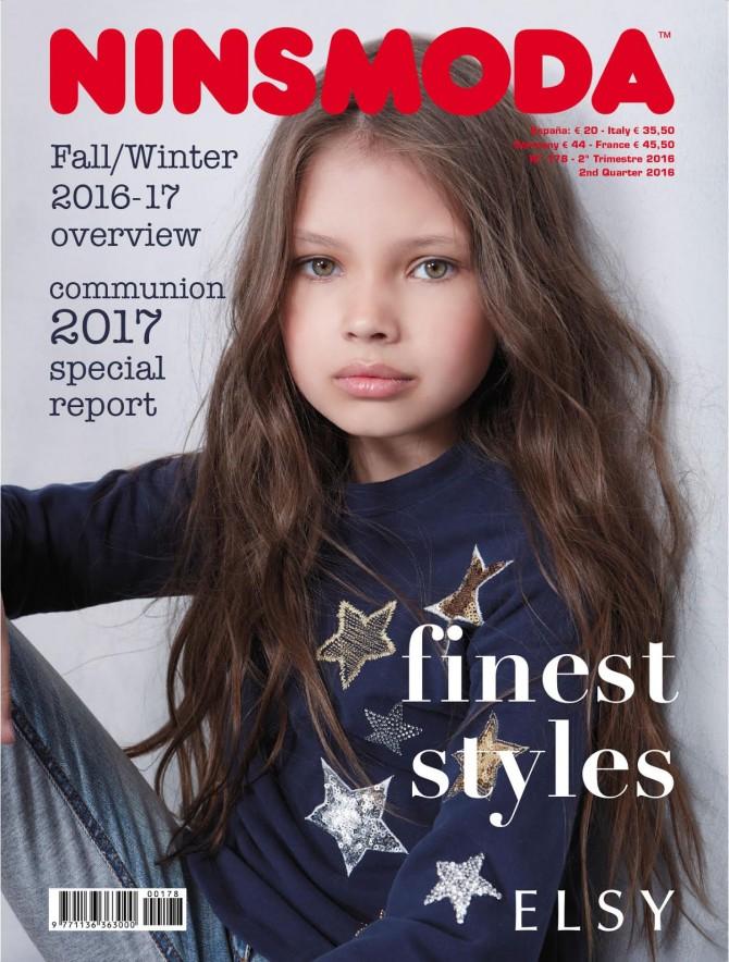 revistas de moda infantil