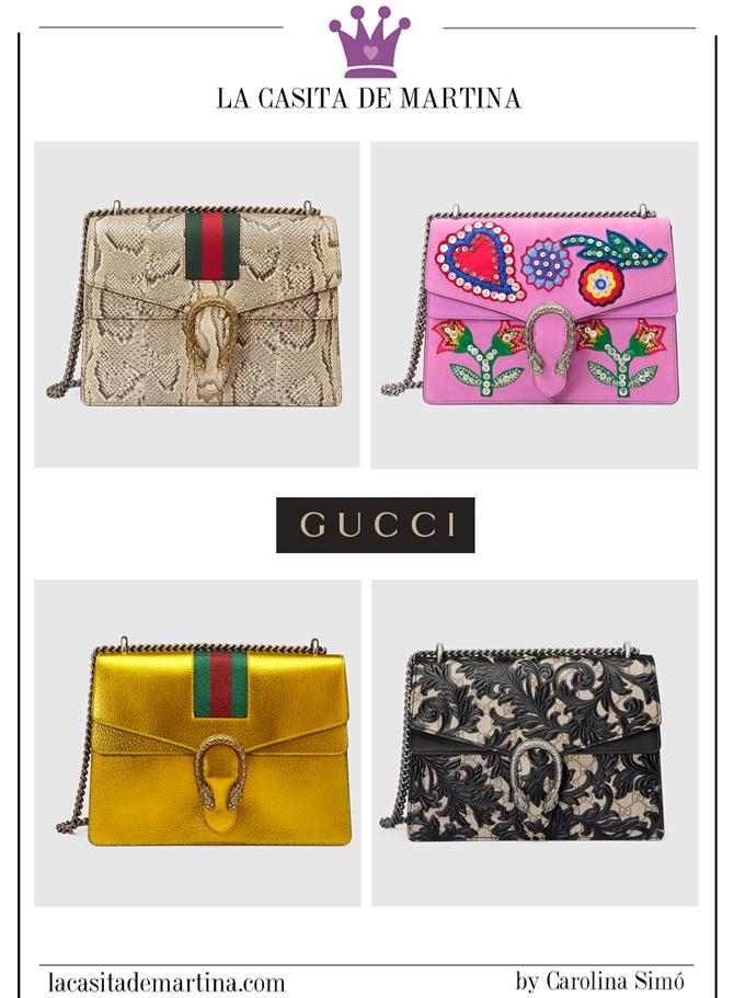 Tendencias Moda, Blog de Moda, La casita de Martina, Dionysus de Gucci