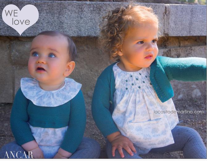 Ancar moda, Moda Infantil, Tendencias Moda Infantil, La casita de Martina, Blog de Moda Infantil