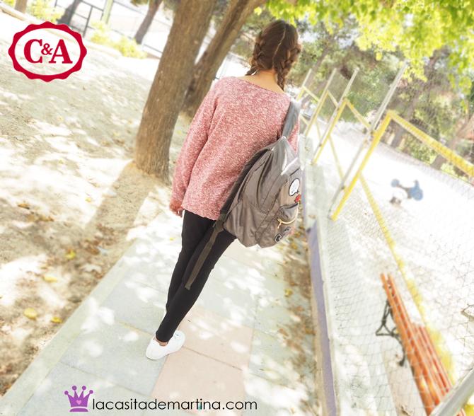 Sorteo moda infantil, CyA, Blog Moda Infantil, Vuelta al cole, La casita de Martina