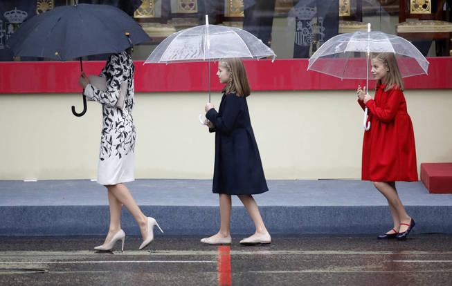 Abrigos de Leonor y Sofia dia de la Hispanidad, Marca ropa Leonor y Sofia, Blog de Moda Infantil, La casita de Martina, 5