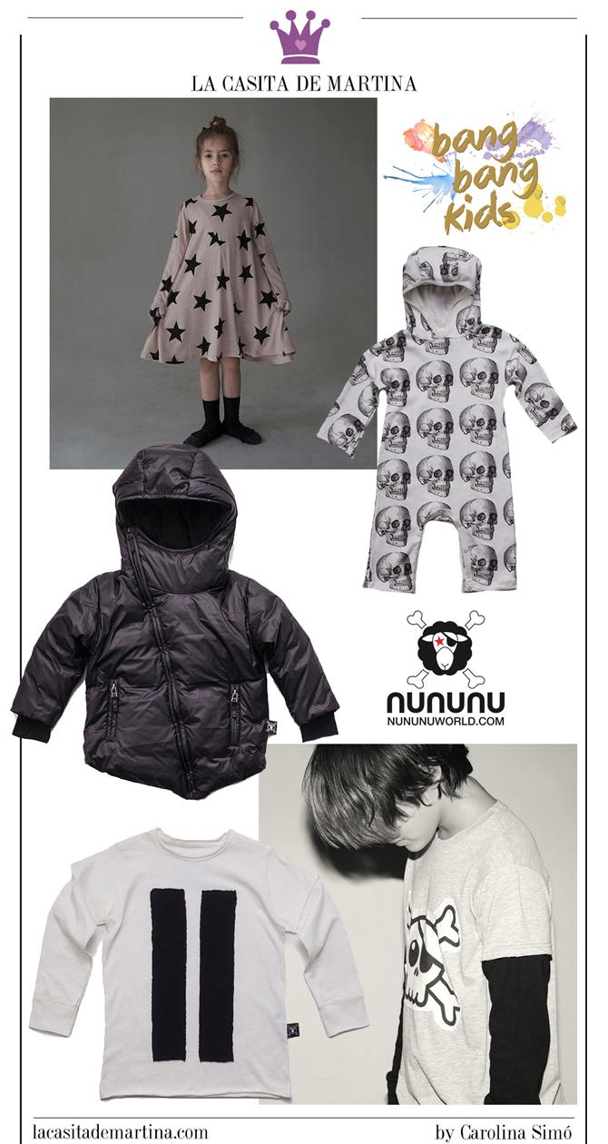Tienda de Moda Infantil, Bang Bang Kids, La casita de Martina, Blog Moda Infantil, nununu