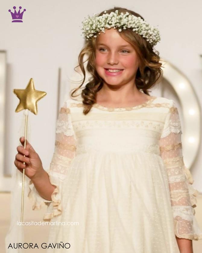 Trajes de Comunion 2017, Blog Moda Infantil, La casita de Martina, Aurora Gaviño Vestidos Comunion